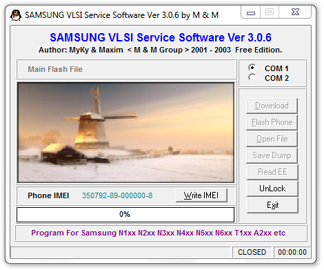 Samsung VLSI service Software