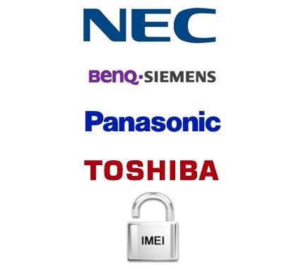 Déblocage Toshiba, Nec, Siemens, Panasonic par imei gratuit !