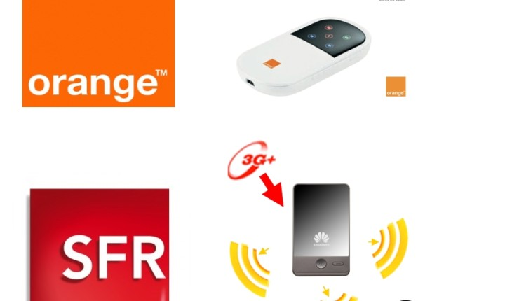 Déblocage clé 3G domino (Orange) et Hotspot 3G+ (SFR) gratuit !