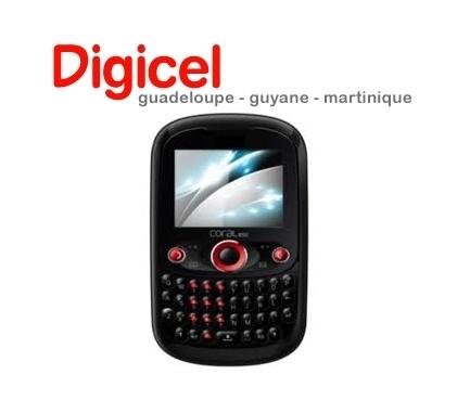 Déblocage Coral 255, 550, 555, 725, 850 (Digicel) gratuit !