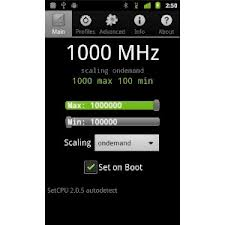 Overclocker LG Optimus 4X HD avec LG Gearbox sans root !