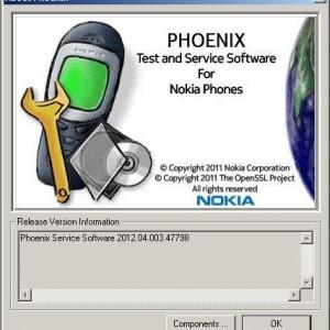 Phoenix Service Software 2012 (Pour Nokia)