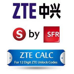 Débloquez votre ZTE et votre S by SFR en ligne gratuitement !