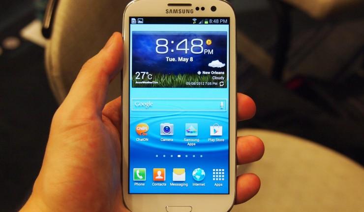 Hard reset du Samsung Galaxy S3