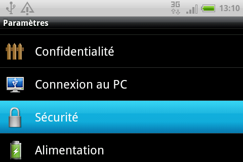 securite samsung