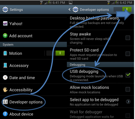 debogage Ice Cream Sandwich à Jelly Bean 1 (4.0 - 4.1.2)
