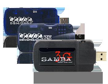 Configurer une clé 3G Falcom SAMBA 75