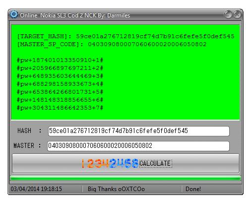 logiciel de déblocage SL3 ok