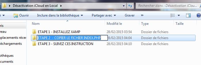 déblocage iCloud etape 10