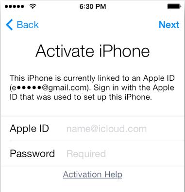 comment debloquer icloud iphone 4