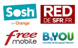 Comparatif des forfaits mobiles sans engagement