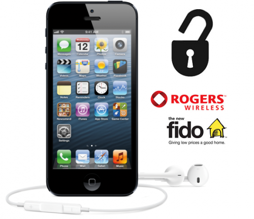 Déblocage iPhone 3G/3GS/4/4S/5/5C/5S Rogers/Fido Officiel
