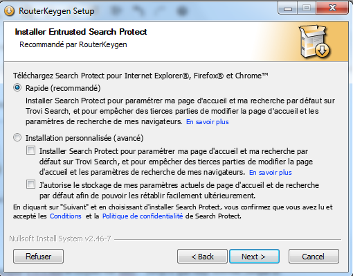 Router KeyGen 2