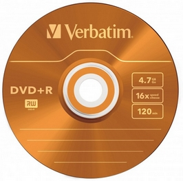 dvd plus r verbatim