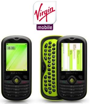 Déblocage Alcatel OT606 Virgin Mobile gratuit (testé)