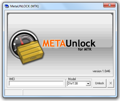 Meta Unlock MTK pour débloquer gratuitement les Daewoo par imei