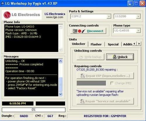 Vygis Tool Box complet (Lg, Alcatel, NewGen…)