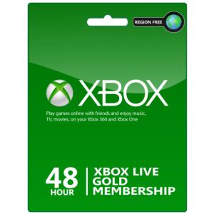 Codes Xbox Live 48 heures à petit prix avec livraison instantanée