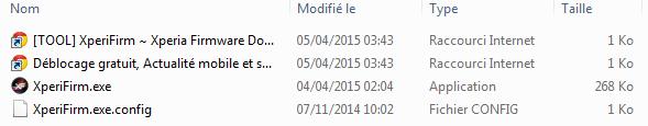 XperiFirm 4.1 unzip