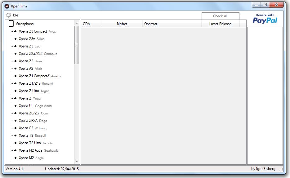 XperiFirm 4.1