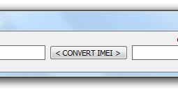 Convertir un numéro imei en hexadécimal