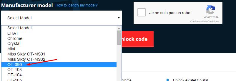 unlock modem alcatel