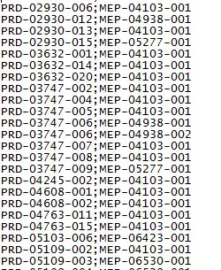 Convertir 14639 PRD en MEP pour Blackberry