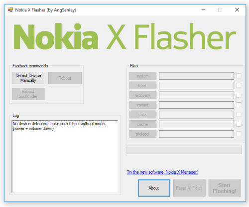 Flasher un Nokia X RM980 (Nokia X Flasher)