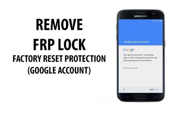 Désactiver la protection FRP ou la vérification de compte google sur